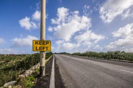 Perche' a Malta si guida nella corsia di sinistra?