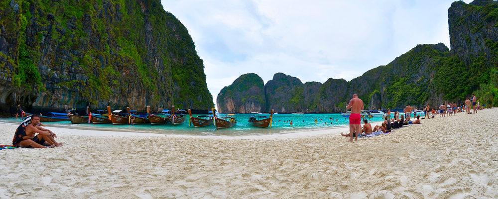 Maya Bay, sull'isola di Koh Phi Phi Ley